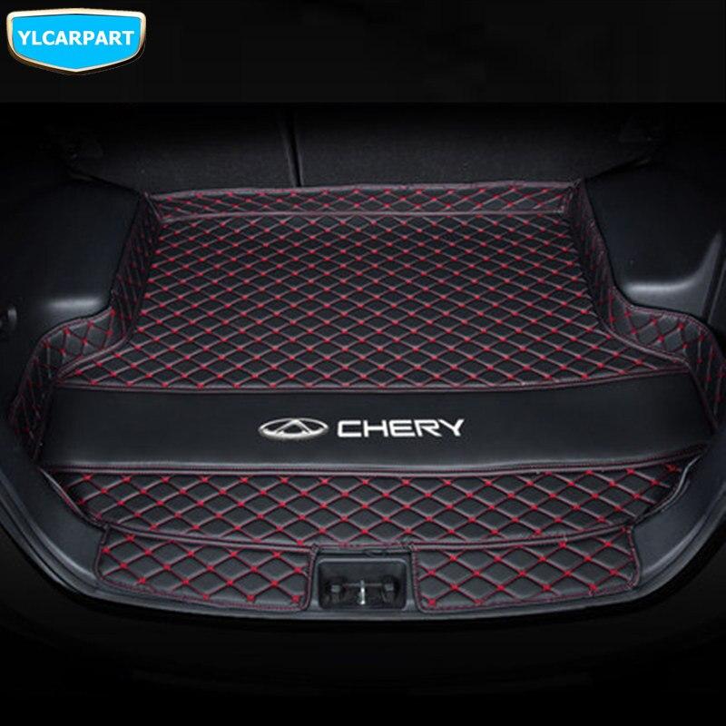Pour Chery Tiggo 4, 5X, Tiggo4, Tiggo5X, tapis de sol de coffre de voiture