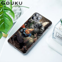 GOUKU CLAY MANN Fashion Phone Case for IPhone 11 X XS Pro XR XS Max 8 7 6 6S Plus 5 5S SE Occlusion Scratch Waterproof Case(China)
