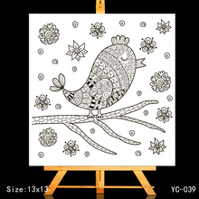 ZhuoAng Little bird Clear Stamps/Card Making Holiday decorations For  scrapbooking Transparent stamps 13*13cm