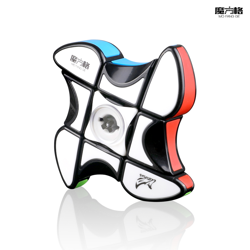 Qiyi Mofangge Windmill Spinner 1x3x3 Puzzle Magic Cube Speed Fingertip Gyro Twist Relief Stress Pocket Speed Cube toys