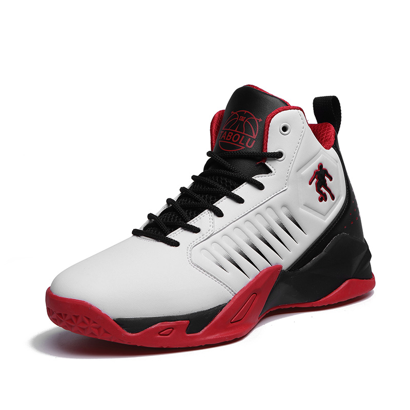 New High top Cushioning Mens Basketball Shoes Breathable  Wearable Basketball Shoes Rebound Gym Outdoor Sports Shoes Basketball Shoes     - title=