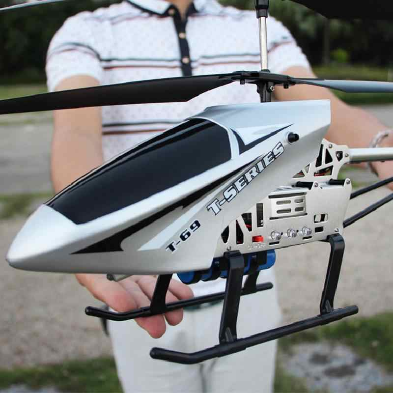 High Quality Super Large Remote Control Aircraft Crash Resistant Helicopter Charging Toy Aircraft Model Uav Aircraft