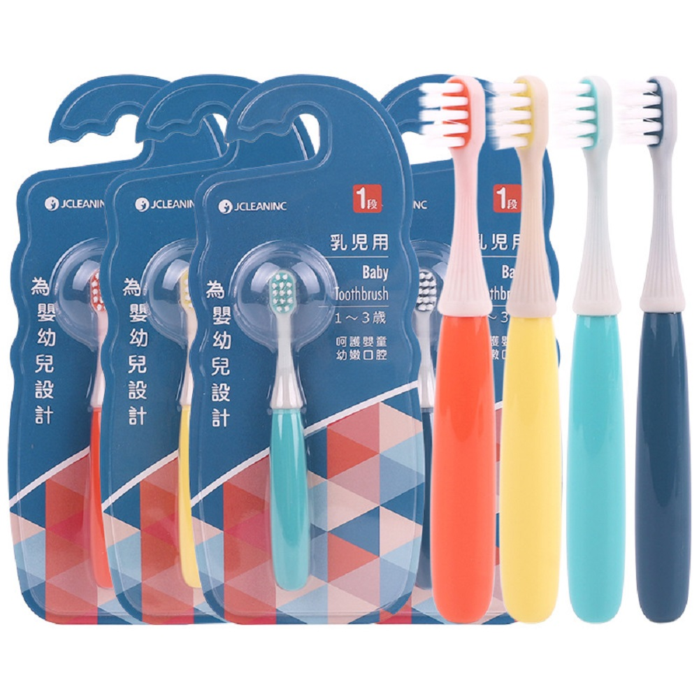 Baby Soft-bristled Silicone Toothbrush For Children Teeth Cute Training Toothbrushes Baby Dental Care image