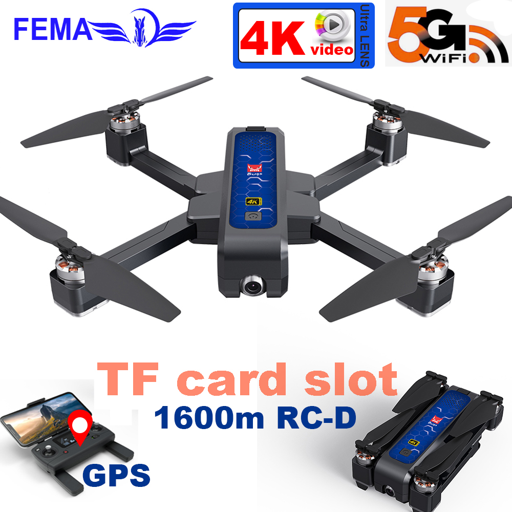 B4W Quadcopter Professional GPS Drone with Camera HD 4K Video 5G WIFI FPV long distance Brushless Foldable RC Drones VS X12 X8SE