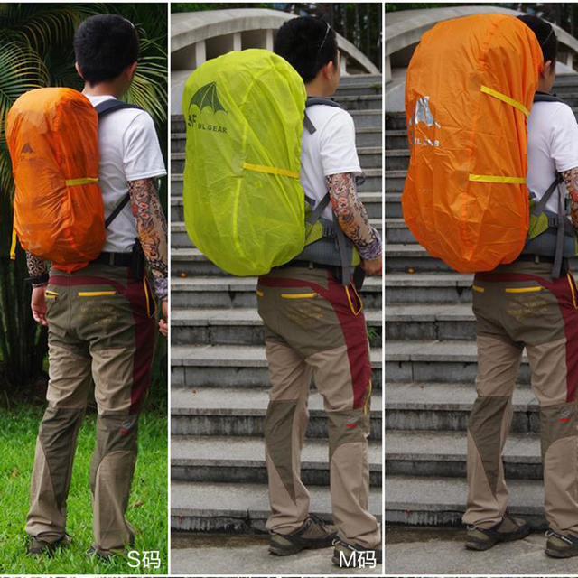 3F UL GEAR Backpack Cover Rain Cover 210T 15D  Bag Cover 4
