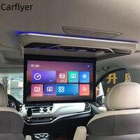 2021 nuovo 19 pollici Android 9.0 2 16G Monitor per montaggio su tetto per auto HD 1080P MP5 lettore Video WIFI/Bluetooth/FM/USB/SD/HDMI TV a soffitto per auto