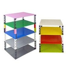Классические базовые пластины, высококачественные двусторонние кирпичи в горошек 32*32, самодельные строительные блоки, базовая пластина, совместимая пластина всех брендов