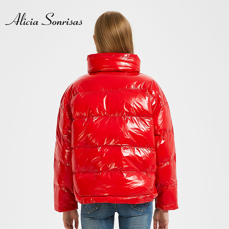зимняя Alicia свободная пальто