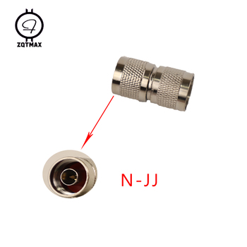 ZQTMAX N-JJ  N-Type Male Female Connector Coaxial Connectors Convert Adapter 10pcs lot n type n male plug to f female jack rf coaxial adapter connector free shipping