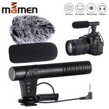 MIC-02/MIC-03/MIC-05/MIC-06/MIC-07 3.5mm telefone móvel/câmera microfone gravação de vídeo super-cardióide apontando microfone estéreo 2019