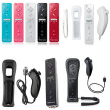 2 in 1 Wireless Remote Gamepad Controller für Nintendo Wii Nunchuk Gebaut-in Motion Plus Gamepad mit Silikon Fall motion Sensor