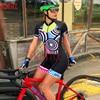 Kafitsummer nova camisa de ciclismo de manga curta terno de uma peça terno profissional feminino triathlon bicicleta de montanha macaquinho 12