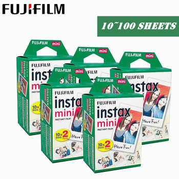 100 hojas para fujifilm instax mini 9 8 películas borde blanco películas para instant mini 9 8 7s 25 50s 9 90 Cámara Sp-2 papel - DISCOUNT ITEM  0 OFF All Category