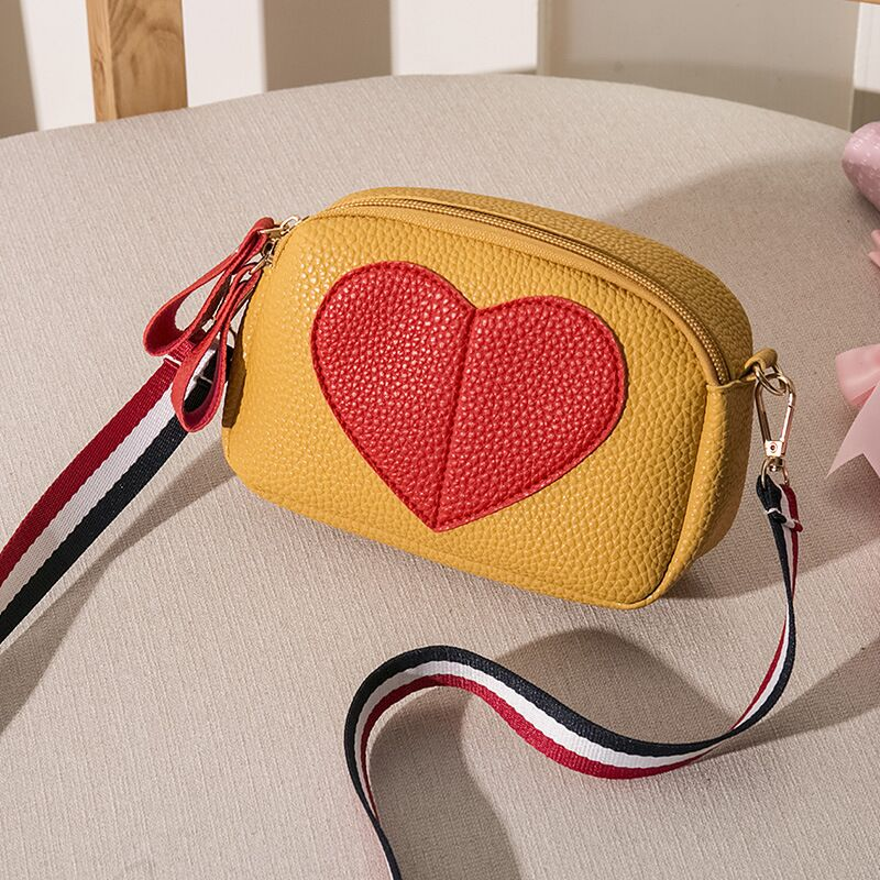 Vento Marea Small Crossbody Bags For Women 2019 Mini PU Leather Wide Strap Shoulder Messenger Bag Yellow Ladies Girl Phone Purse