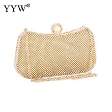 Gold Evening Party Clutch Bag Silver Wedding Handbag Purse With Rhinestone Luxury Handbags Women Bags Designer Clutch Bag Pillow xiyuan brand mini clutch bags box luxury crystal evening bags party clutch purse gold women wedding bag soiree pochette silver