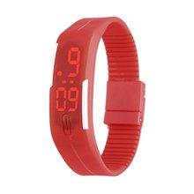 цены Kids LED Date Children Digital Outdoor Sports Clock Watch Silicone Wristwatch Birthday Gift for Boy Girls 2019 Fashion