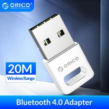 ORICO Wireless USB Bluetooth Computer Adapter 4.0 Bluetooth Dongle Audio Music Transmitter Sound Receiver for PC Computer