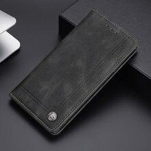 Flip pu deri kılıf Realme için V11 V13 V15 5G Funda cüzdan kitap telefon kapak kart yuvası standı realme için 8 Pro GT Narzo 30A Coque