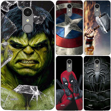 Superhero Case Capa Do Telefone Para LG K11 Plus K10 K7 K8 K9 K4 K5 K3 2018 2017 2016 Superman Sacos Fundas Tampa Traseira Shell(China)