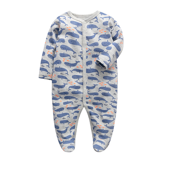baby boys clothes newborn sleeper infant jumpsuit long sleeve 3 6 9 12 months cotton pajama new born baby girls clothing image
