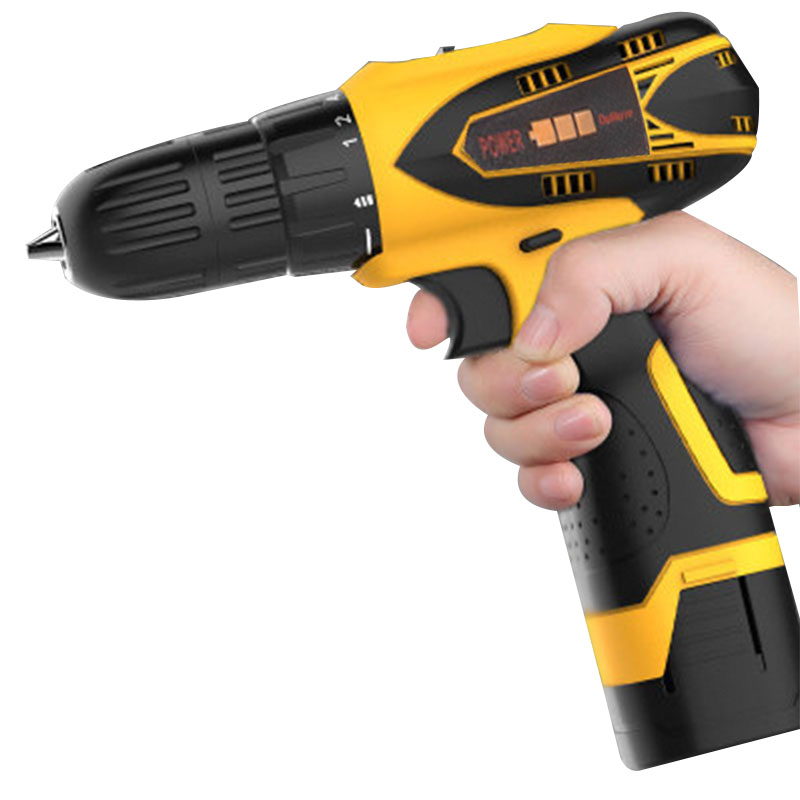 12V Mini Drill Electric Hand Drill Battery Cordless Hammer Drill Electric Screwdriver Rechargeable Lithium Power Tools