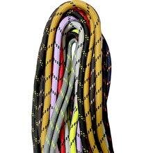 160 -180 cm moda cor agradável sapato redondo cordas cadarços para martin caminhadas botas de trabalho