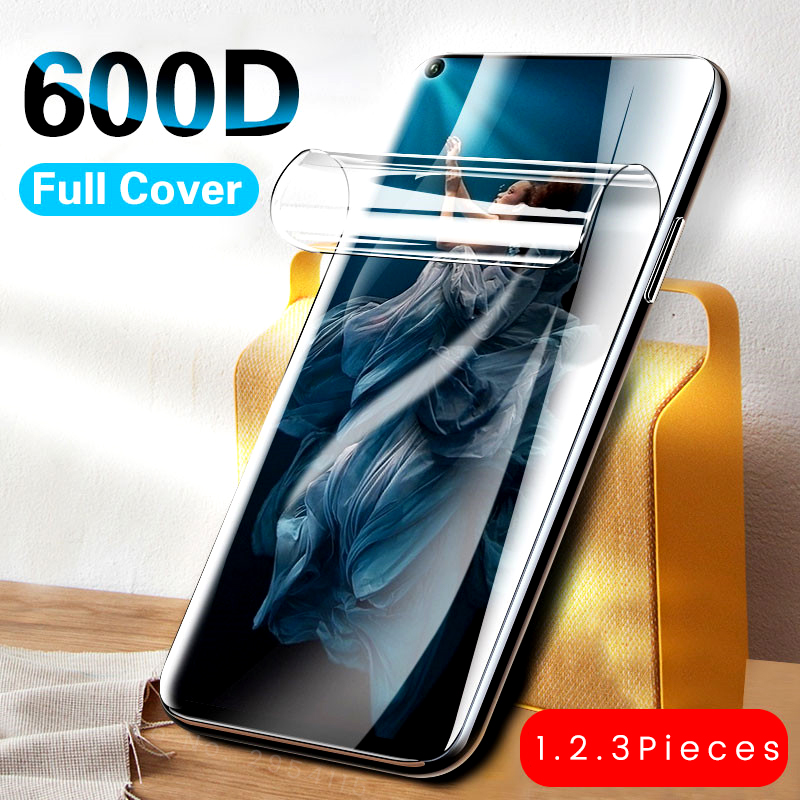 3-1Pcs 600d Soft Hydrogel Protective Film For Huawei Honor 20 10 Lite Light 10i 20s 8s 8c 8x 8a Pro 9x Premium View20 Play