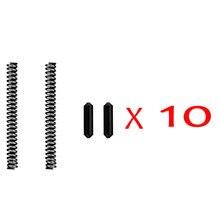 10 комплектов разборных/поворотных штифтов из нержавеющей стали