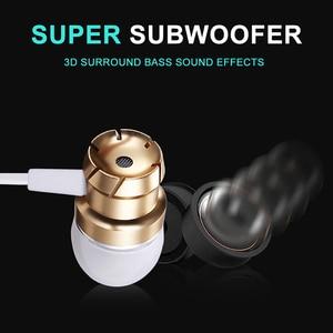 Image 4 - Auricolari sportivi In Ear con microfono cuffie Stereo cablate da 3.5mm cuffie vivavoce auricolari per lettore Mp3 iPhone Xiaomi telefono cellulare
