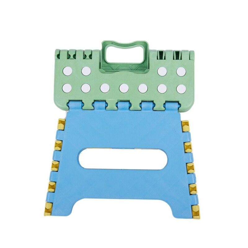 Hot Sale Folding Stool Folding Seat Folding Step 22 X 17 X 18cm Plastic Up To 150 Kg Foldable