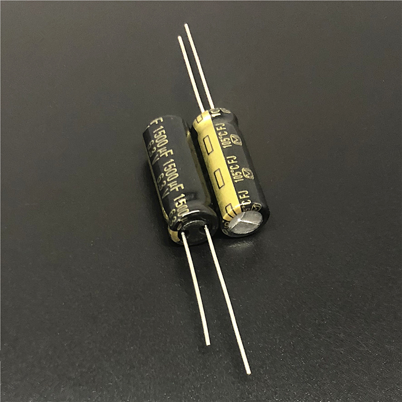 10pcs 1500uF 6.3V FJ Series 8x20mm Original Low ESR 6.3V1500uF Motherboard Capacitor