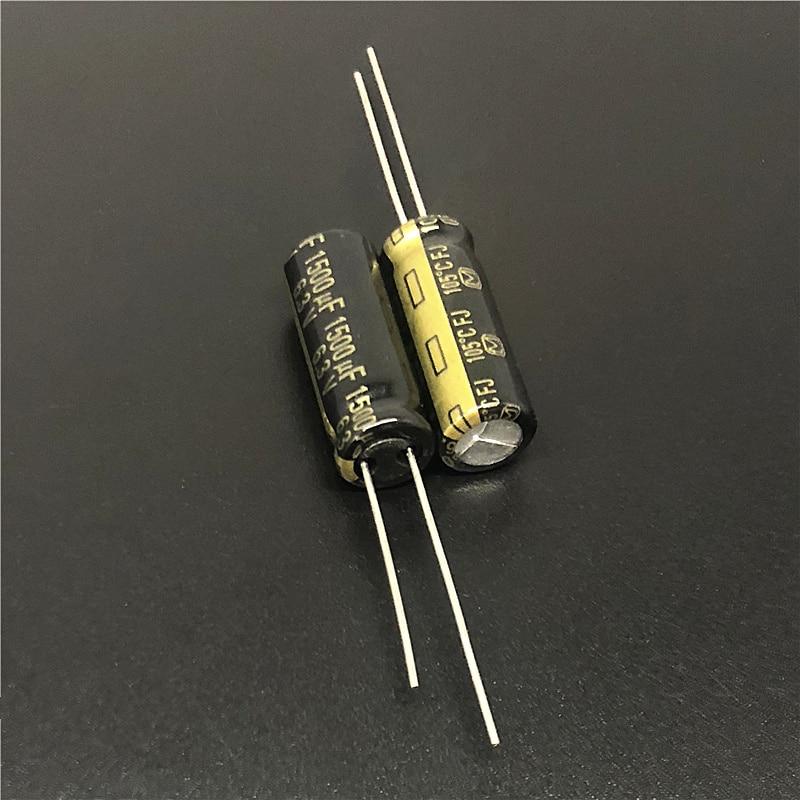 10 шт. 1500 мкФ 6,3 В FJ серии 8x20 мм оригинальный низкий ESR 6.3V1500uF материнская плата конденсатор