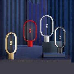المغناطيسي الإبداعية LED للأطفال ليلة ضوء الجدول مصباح نوع-c USB امدادات الطاقة ذكي الإضاءة لمبة للمنزل مكتب ديكور