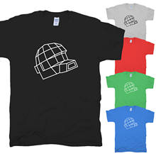 Dance, Electro, Music, Music, Daft, Harder, Punk, Stronger, Helmet T-Shirt Show Original Title Men's High Quality Tops(China)
