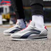 Li-Ning Men 3KM Classic Leisure Shoes Hit-Color Retro Lifestyle Shoes LiNing li ning Sport Lightweight Sneakers AGCP079 YXB315