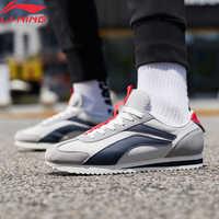 Li-ning men 3 km clássico lazer sapatos hit-color retro estilo de vida sapatos forro esporte tênis leve agcp079 yxb315