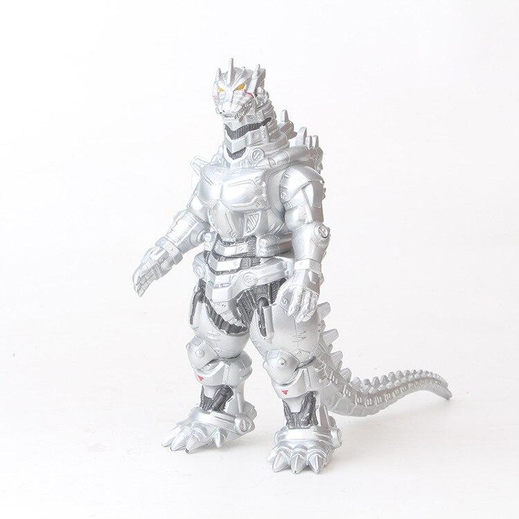 Фигурка из ПВХ Mecha Gojira, Коллекционная модель игрушки 17 см