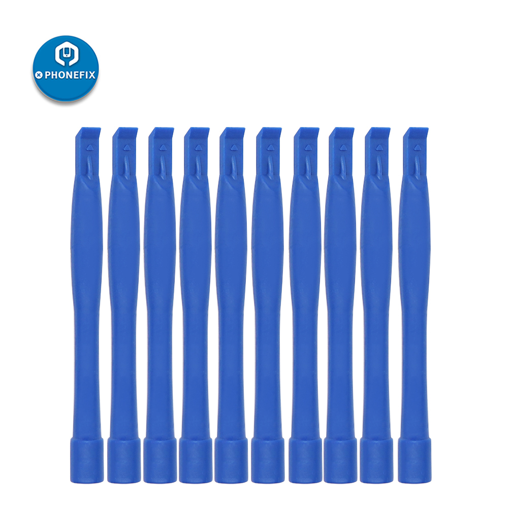 PHONEFIX 10PCS Plastic Spudger For IPhone Repair Samsung Repair Mobile Phone LCD Screen Battery Replacement Kit Pry Tool Kit