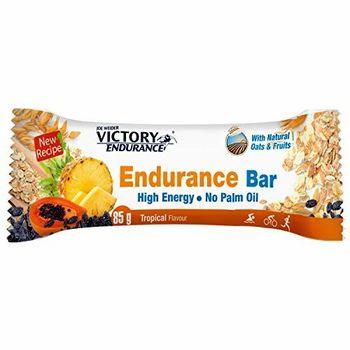 VICTORY ENDURANCE Barre Energétique, Arôme Tropical, 85g
