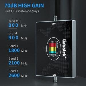 Image 3 - をlintratek 5バンドB20 800 900 1800 2100 2600 900mhzの携帯アンプ4 3g携帯信号ブースタ中継すべてのヨーロッパの国