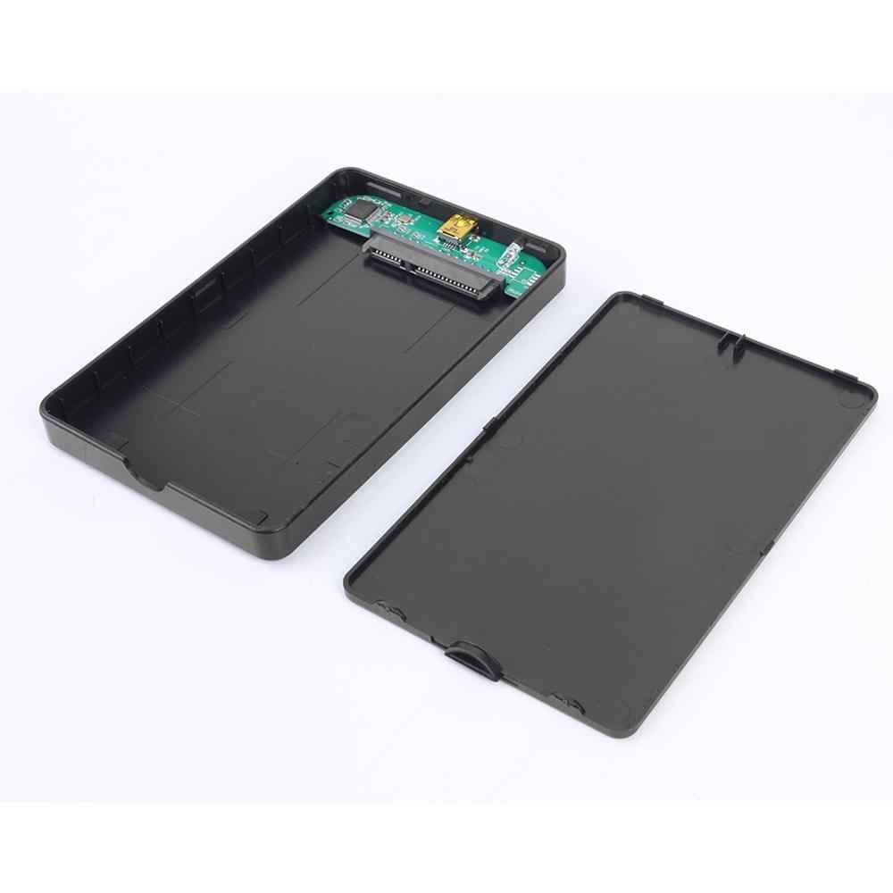 Obudowa do twardego dysku SATA USB3.0 USB2.0 HDD 5 gb/s zewnętrzna obudowa dysku twardego obsługa wysokiej szybkości 6TB zewnętrzny dysk SSD obudowa HDD