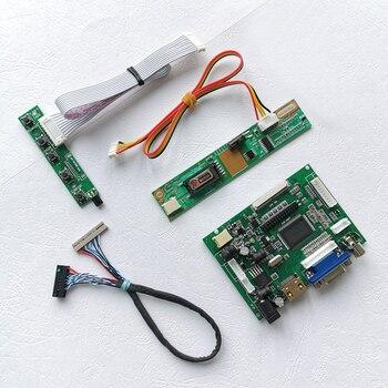 """Para LP141XA/LP141XB portátiles pantalla LVDS 20-Pin 1 inversor CCFL HDMI VGA 2AV 14,1 """"1024*768 controlador con pantalla LCD coche tablero"""