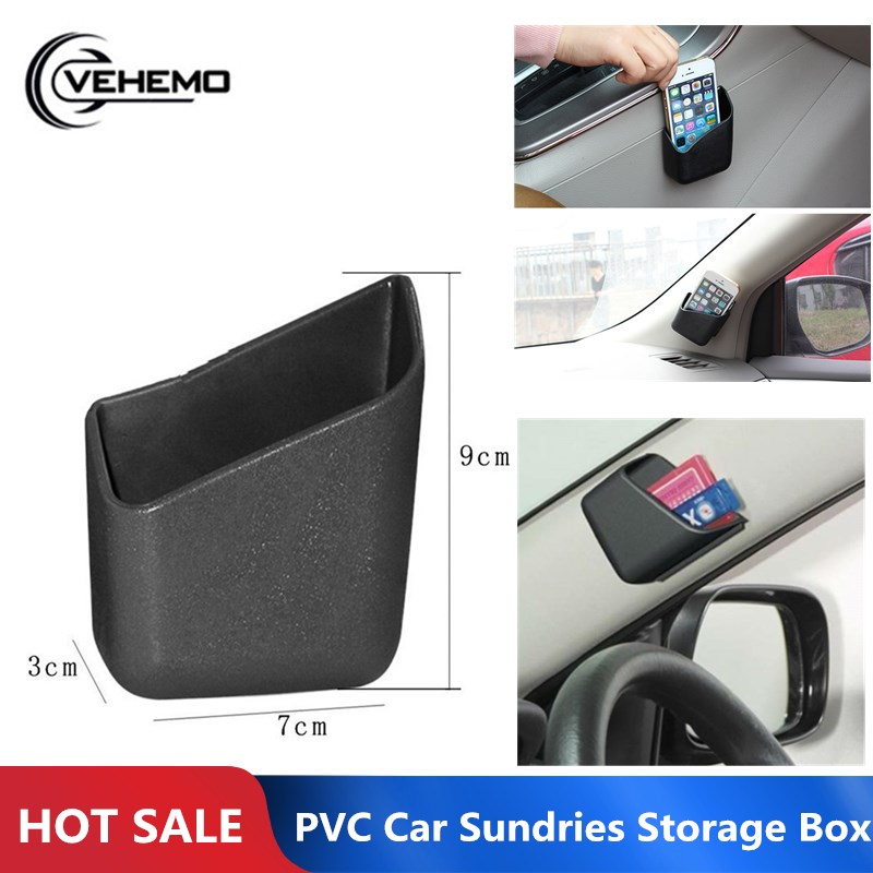 Storage-Box Car-Organizer Coin-Card Mobile-Phone-Holder VEHEMO for Auto-Interior-Supplies
