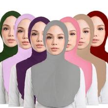 Hat Veil Headscarf Islam Niqab Muslim Prayer Arab Hijab One-Piece Cap Amira Middle-East