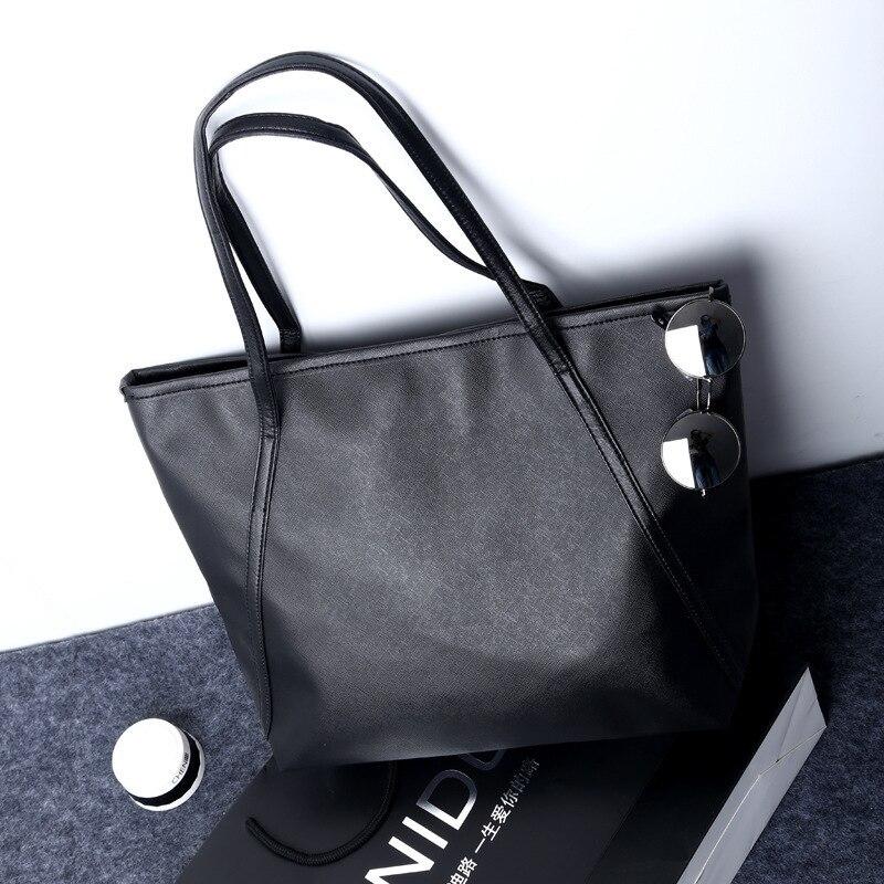 2020 Spring And Summer New European And American Fashion Big Bag Toothpick Pattern Shoulder Bag Casual Handbag Big Bag Tote Bag