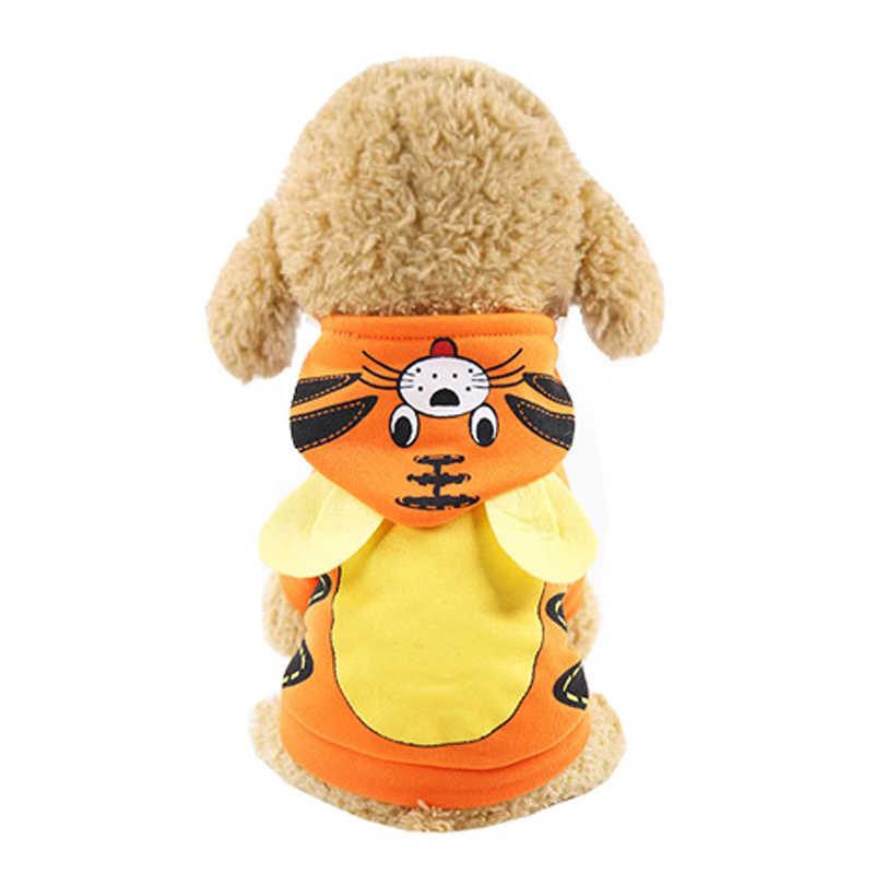 Cartoon Hond Winter Kleding voor Kleine Middelgrote Honden Jasje Warm Pet Dog Kleding Puppy Kleding voor Honden Hoodie Huisdieren kleding
