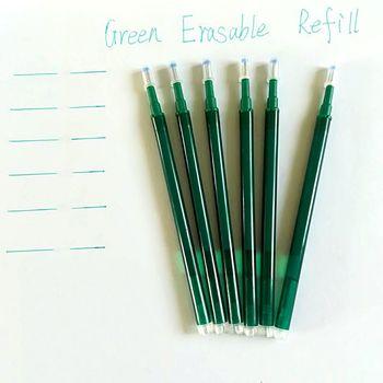 Friction Erasable Pen Frixion Refill Unisex 6Pcs/Lot Refill Pens Erasable Refills Unisex 0.7mm Gel Pen School Office Stationery цена 2017