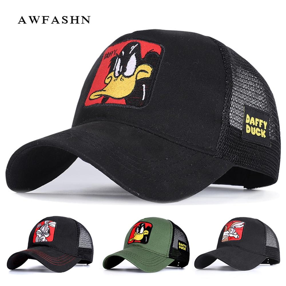 Summer New Classic Embroidered Baseball Cap Unisex Mesh Sports Cap Adjustable Rebound Fashion Casual Sun Hat Trucker Hat Dad Hat