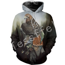 Tessffel Animal parrot Harajuku MenWomen HipHop 3Dfull Printed Sweatshirts/Hoodie/shirts/Jacket  Casual fit colorful camo Style7
