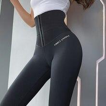 Cintura alta psiquiatra abdômen calças de yoga workout esporte leggings das mulheres para fitness calças de treinamento em execução activewear